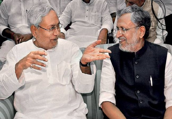 No confusion, Nitish Kumar will be Bihar CM: Sushil Modi after NDA win in assembly polls