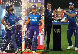 Rohit Sharma lifts IPL trophy for the 5th time for Mumbai Indians; See Pics
