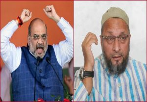 Give in writing that Bangladeshis, Rohingyas have to be evicted and see govt's response: Amit Shah slams Owaisi