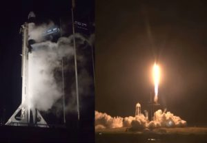 SpaceX launches 4 astronauts on first operational mission to space
