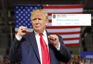 Trump's 'I WON THE ELECTION' tweet goes viral, netizens quote it to make false claims