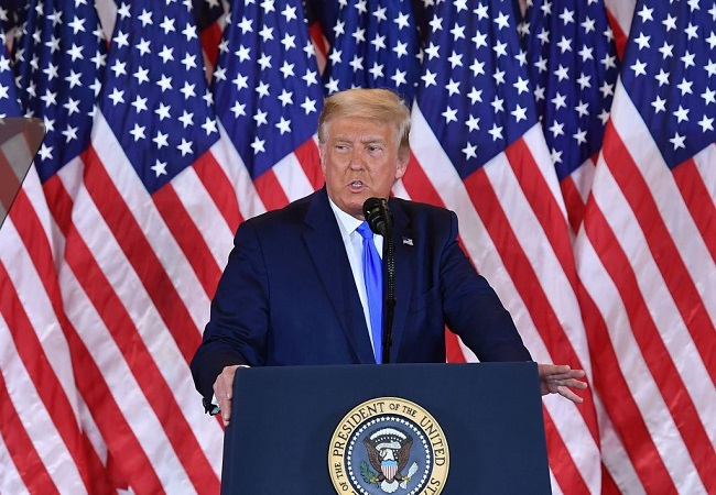 US Elections 2020: Donald Trump claims victory, says will go to US Supreme Court against Democrats
