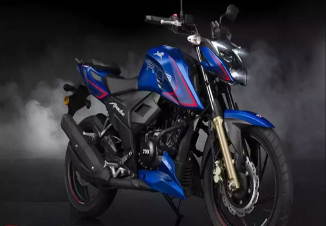TVS Apache RTR 200 4V launched at Rs 1.31 lakh in India