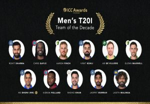Kohli, Rohit, Dhoni, Bumrah named in ICC's T20I Team of the Decade
