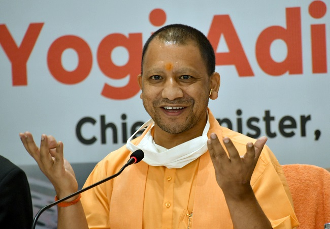 UP CM Yogi thanks people of 'Bhagyanagar' for GHMC poll results