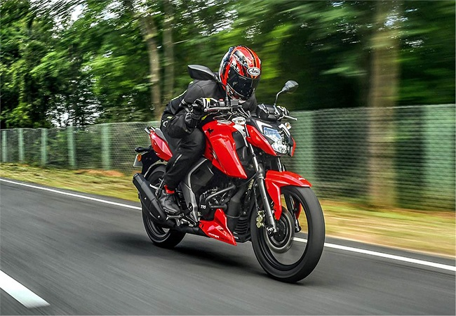2021 TVS Apache RTR 160 4V with Bluetooth-enabled TVS SmartXonnect technology launched