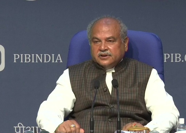 Narendra Singh Tomar - Agriculture Minister
