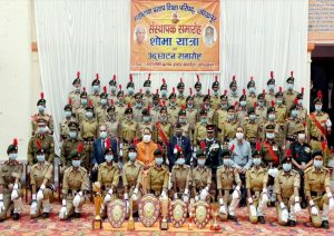 CM Yogi, CDS Bipin Rawat at foundation week of Maharana Pratap College