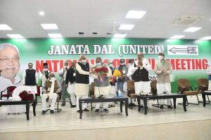 RCP Singh becomes new JD(U) president, takes over from Nitish Kumar