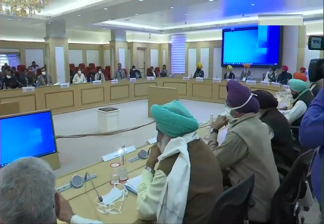 farmers meeting with Govt - 1