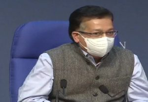 "Govt never spoke about vaccinating the entire country,"" says Health Secretary Rajesh Bhushan"