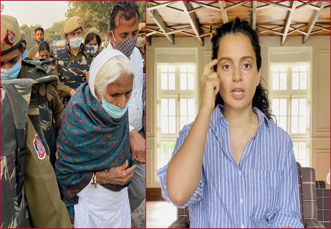 Kangana Ranaut gets legal notice over her comment on Shaheen Bagh activist Bilkis Bano