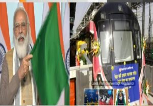 PM Modi inaugurates India's first driverless train on Delhi Metro's Magenta Line