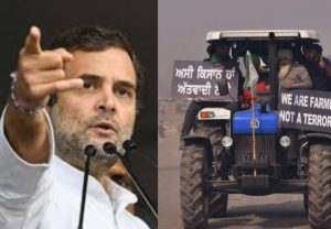 'Government of lie, loot and of suit boot': Cong leader Rahul Gandhi slams Union govt over farmers protest