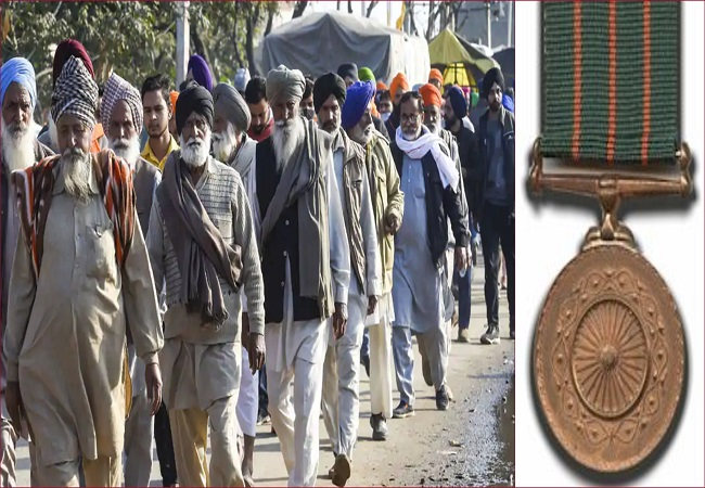 Fact Check: News claiming 25,000 Indian Army Soldiers returned Shaurya Chakra Medals to Support Farmers, is it true?