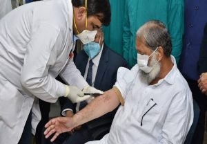 Haryana minister Anil Vij tests positive for COVID-19, days after getting a dose of Covaxin
