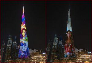 Wonder Woman lights up Dubai's Burj Khalifa ahead of film release