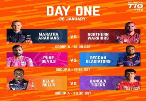 Maratha Arabians vs Northern Warriors Dream 11 Prediction: Team, top picks, Abu Dhabi T10 league match preview