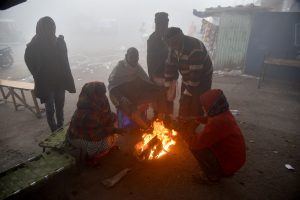 Mercury drops to 1.1°C in Delhi, lowest temperature in 14 years | See Pics