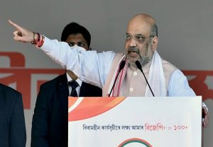 Will make infiltrator-free, flood-free Assam: Amit Shah