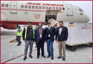 Air India carries first consignment of Bharat Biotech Covid vaccine from Hyderabad to Delhi