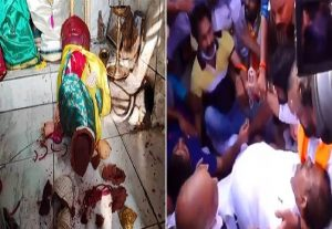 Temple attacks in Andhra: BJP state president faints after police manhandling, Amit Malviya tweets VIDEO