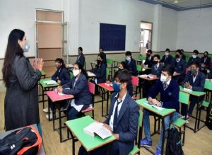 Delhi: Class 10, 12 schools reopen after 10 months, canteens to stay closed