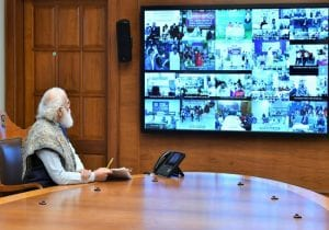 PM Modi monitors Covid vaccination, takes real-time update from over 3,000 centres