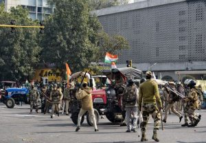 lathi charge, Tear gas, clashes: Farmers' tractor rally protest violence in pics
