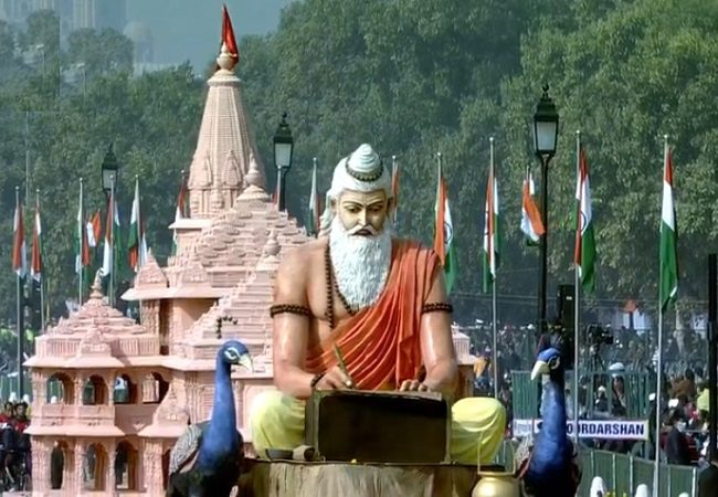 Republic Day parade 2021: UP tableau displays Ayodhya's Ram Temple