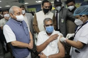 Gujarat govt initiates state-wide vaccination from Civil Hospital in Ahmedabad