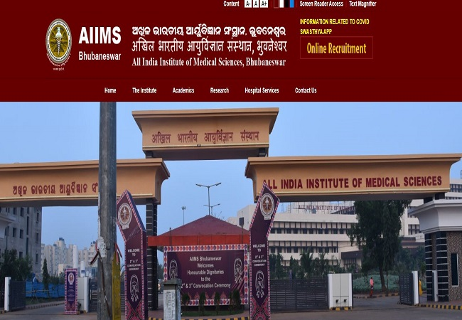 AIIMS Bhubaneswar interview schedule 2021 for Assistant Professor Post out now: Check here