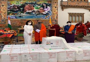 Bhutan receives first consignment of 150,000 doses of Covishield vaccine from India