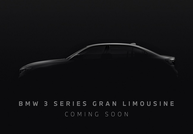 BMW 3 Series Gran Limousine pre-bookings to open from 11 Jan in India