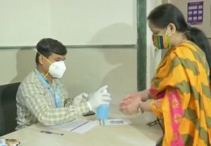 Dry run for COVID19 vaccine administration across India