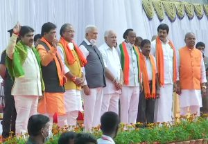 Karnataka Cabinet expansion: Seven new ministers sworn in