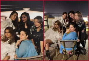 Mom-to-be Kareena Kapoor Khan gives a glimpse of her get together with girl gang
