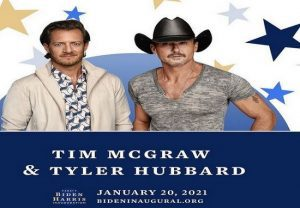 Joe Biden's inauguration: Tim McGraw, Tyler Hubbard set to perform new track, 'Undivided'