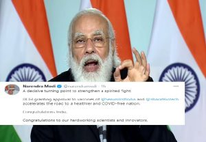 India approves Covaxin, Covishield vaccine; PM Modi says 'decisive turning point to strengthen a spirited fight'