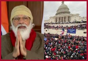 US Capitol Violence: PM Modi calls for orderly, peaceful transfer of power