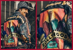 It's Cool! 23-year-old Pune-based artist pays tribute to Ranveer Singh with a customized jacket