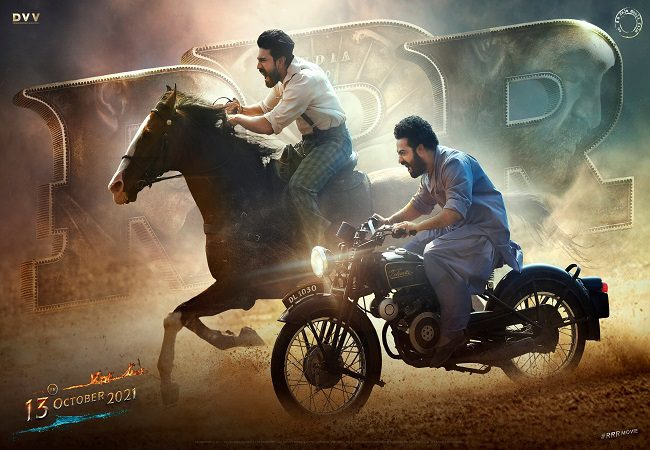 SS Rajamouli's RRR gets a release date, makers drop new poster