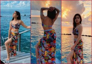 """Sara Ali Khan's """"Sandy toes and sunkissed nose"""" Pics are BREATHTAKING"""