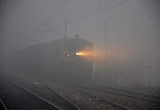 16 trains to Delhi delayed as thick fog engulfs north India