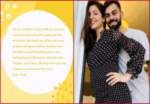 Virat, Anushka blessed with baby girl, wishes pour in