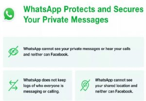 """Update doesn't affect privacy of messages with friends or family"": WhatsApp"
