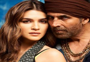 Kriti Sanon unveils her new look from 'Bachchan Pandey'; wraps up first schedule