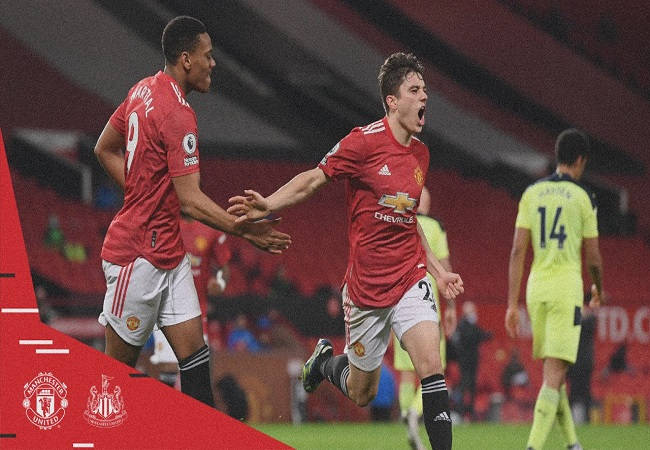 Premier League: Daniel James shines as Manchester United register 3-1 win over Newcastle United | Match report