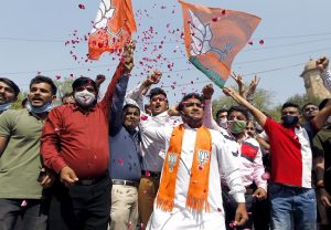 Gujarat municipal election results: BJP heads for big win, AAP bags 27 seats in Surat