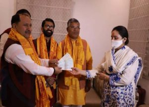 Mulayam Yadav's daughter-in-law donates Rs 11 lakh for Ram Temple, terms firing on carsevaks 'unfortunate'